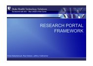 Read more about the framework - DHTS Web Services