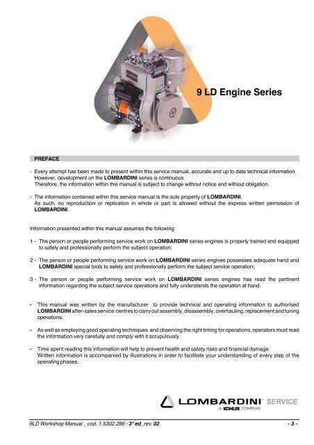 9 LD Engine