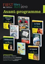 AP First MarsAvril 2010 V0.indd - Pour les Nuls