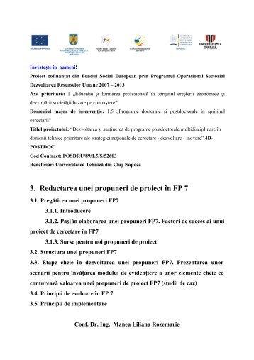 3FP7 - Universitatea Tehnică