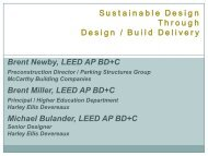 Sustainable Design Through Design / Build Delivery Brent Newby ...