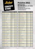 Preisliste 2012 downloaden - Snickers Concept Store - Seite 2