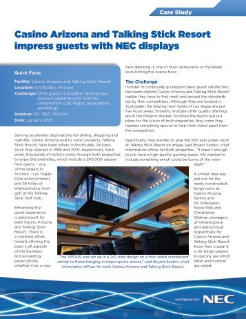 Download PDF - NEC Display Solutions