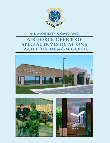 Air Force Office of Special Investigations Facilities Design Guide