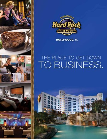 Sales Kit Brochure - Seminole Hard Rock Hotel & Casino