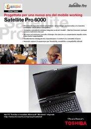 Satellite Pro 6000 - Toshiba