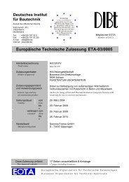 Europäische Technische Zulassung ETA-03/0005 - Hilti ...
