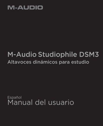 Manual del usuario - M-Audio
