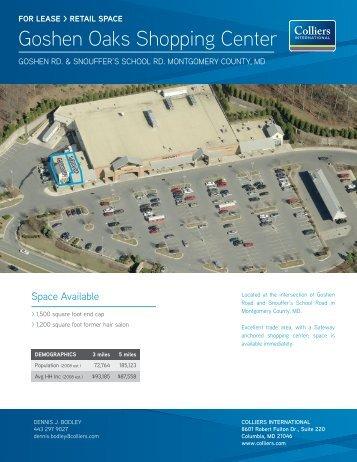 Goshen Oaks Shopping Center - Hearn Burkley
