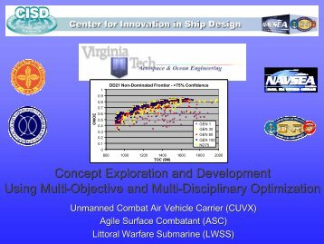 Concept Exploration and Development Using Multi-Objective and ...