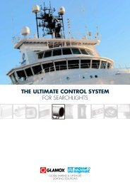 THE ULTIMATE CONTROL SYSTEM FOR SEARCHLIGHTS - Glamox