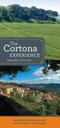 The Cortona Experience - University of Georgia