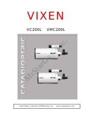 VC200L and VMC200L Manual - Vixen Optics