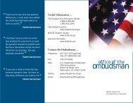 ombudsman - ED Pubs