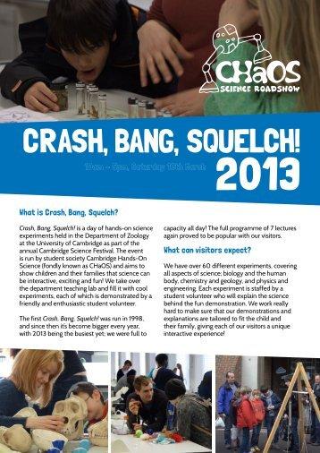 crash, Bang, squelch! - CHaOS