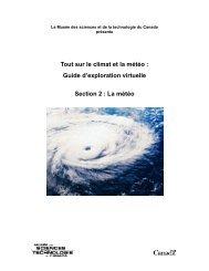 Programme Virtuel - À l'affut de la météo - Section 2 - Musée des ...