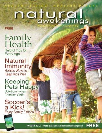 Family Health - Parent Directory - Natural Awakenings
