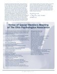 The OP Review July 2011 - Ohio Psychological Association - Page 3