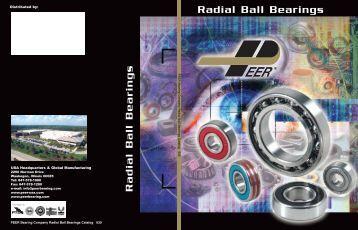 Radial Ball Bearings Radial Ball Bearings - Rainbow Precision ...