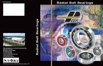 Radial Ball Bearings Radial Ball Bearings - Rainbow Precision ...