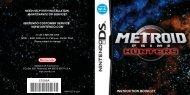 Metroid Prime Hunters Manual - Nintendo