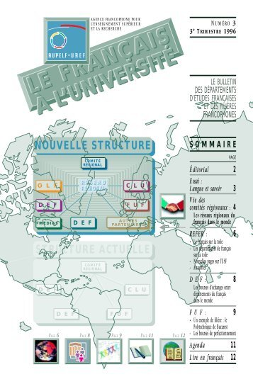 1ère année, 3ème trimestre - Le français à l'université