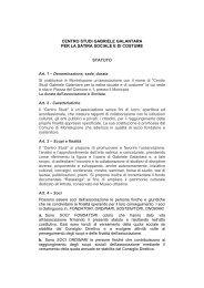 Contratto ad uso abitativo (art - Centro Studi Gabriele Galantara