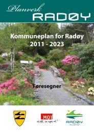 Kommuneplan for Radøy 2011 - 2023 - Hordaland fylkeskommune