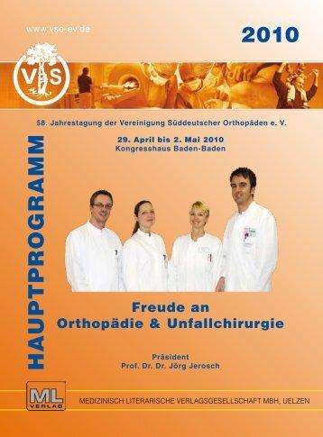 hauptprogramm 2010 - Praxis für interventionelle Schmerztherapie ...