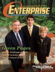 Green Pages - H. Milton Stewart School of Industrial & Systems ...