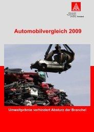 Automobilvergleich 2009 - IG Metall