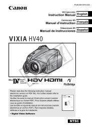 NTSC Instruction Manual Manuel d'instruction Manual de - Fine Arts