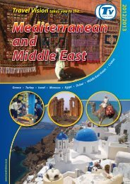 and Middle East - Travel Vision