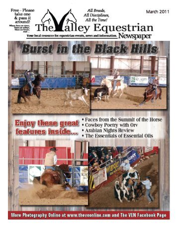 March 2011 - The Valley Equestrian Newspaper