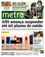 DO ALÉM - Metro