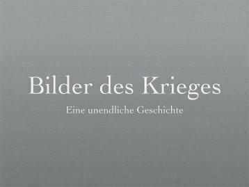 Bilder des Krieges - Datenkerker.de