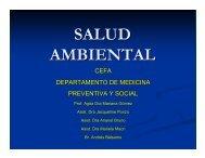 SALUD AMBIENTAL - Revista Virtual de Redesma