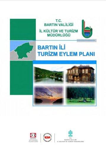 Bartın İli Turizm Eylem Planı - Batı Karadeniz Kalkınma Ajansı