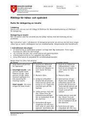 Rutin Delegering Insulin.pdf - Burlövs kommun