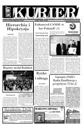 (January) 2007r. No 01 (919) - Nowy Kurier