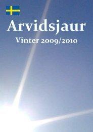 Vinter 2009/2010 - Arvidsjaur