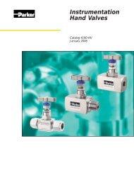Globe style valves typ HNV a HGV - regula servis