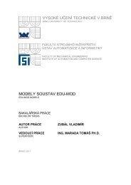 vysoké učení technické v brně modely soustav edu-mod - Ústav ...