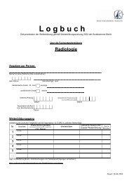 Logbuch FA Radiologie [PDF] - Ärztekammer Berlin