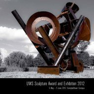 UWS Sculpture Award and Exhibition 2012 - Art Gallery - University ...