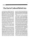 of Cultural Relativism - Page 4