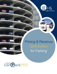 Pricing & Revenue Optimization for Parking - IDeaS