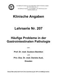 Klinische Angaben Lehrserie Nr. 207 Häufige ... - Iap-bonn.de