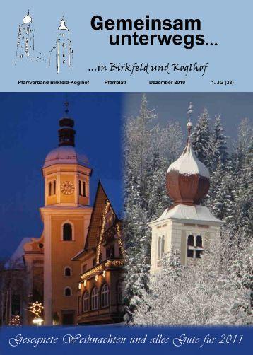 (Dezember 2010) (1,27 MB) - .PDF - Koglhof