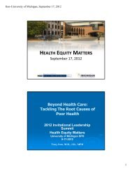 View Dr. Iton's slides in a PDF format. - Office of Public Health Practice
